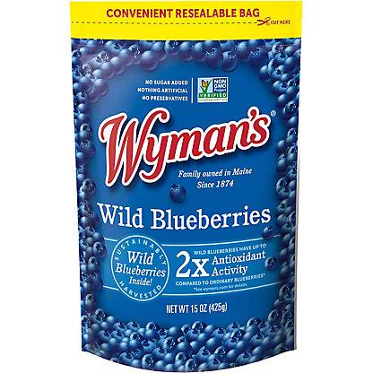 Wymans Wild Blueberries, 15 oz