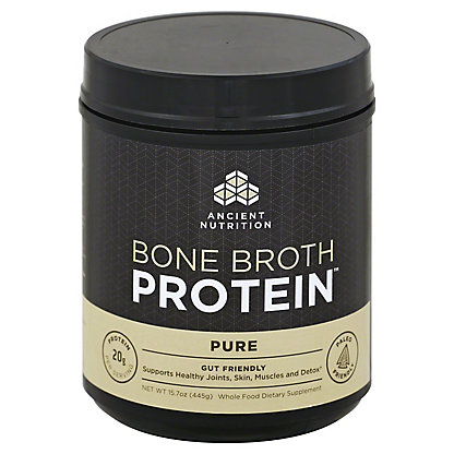Ancient Nutrition Pure Bone Broth Protein,15.7 oz