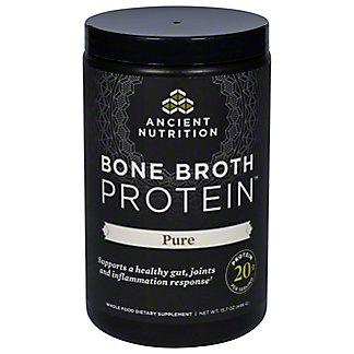 Ancient Nutrition Pure Bone Broth Protein,15.7 oz
