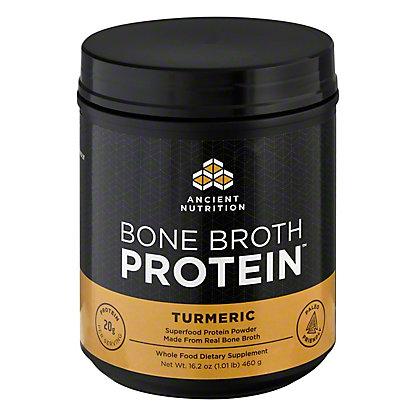 Ancient Nutrition Bone Broth Protein Tumeric, 16.2 oz