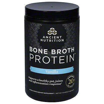 Ancient Nutrition Bone Broth Protein Vanilla,17.4 oz