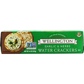 Wellington Garlic Herb Cracker, 4.4 oz