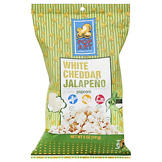 Pop Art White Cheddar Jalapeno, 5 oz