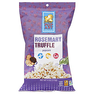 Pop Art Rosemary Truffle Popcorn, 4 oz