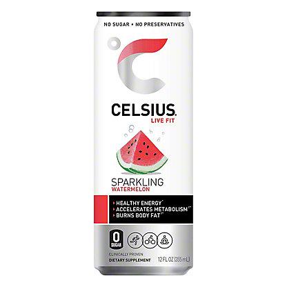 Celsius Sparkling Watermelon, 12 oz