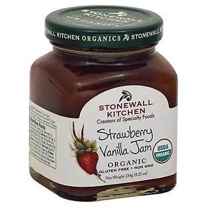 Stonewall Kitchen Strawberry Vanilla Jam, 8.25OZ