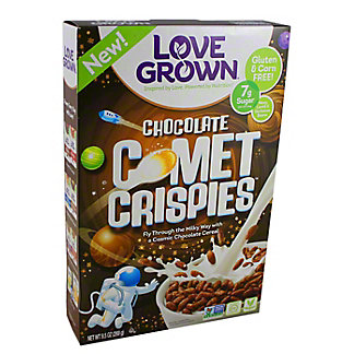 Love Grown Chocolate Comet Crispies,9.5OZ