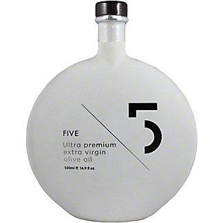 5 Ultra Premium Extra Virgin Olive Oil, 16.9 oz