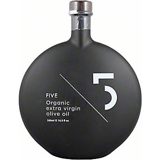 5 Organic Extra Virgin Olive Oil, 16.9 oz