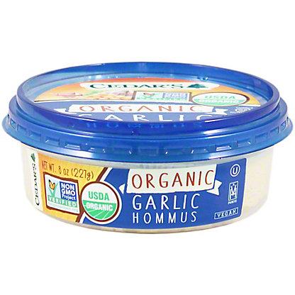 Cedars Organic Garlic Hommus, 8 oz