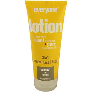 EO Products Lotion Coconut & Lemon, 6 oz