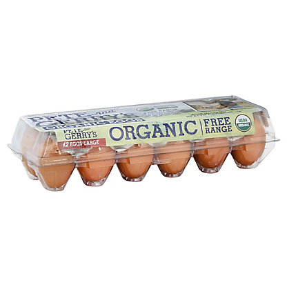 Pete & Gerry's Large Free Range Eggs, 12 ct