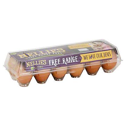 Nellies Large Free Range Dozen Eggs, 1 dz