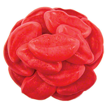 Vidal Gummy Filled Lips, Sold by the pound