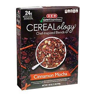 H-E-B Select Ingredients Cerealology Cinnamon Mocha, 16 oz