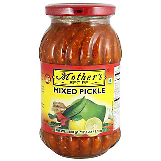 Mothers Recipe Mixed Pickle, 17.6 oz