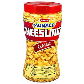 Parle Monaco Cheeslings, 150 g