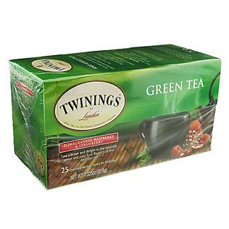 Twinings Green Tea Pomegranate Raspberry Strawberry, 25 ct