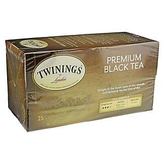 Twinings Premium Black Tea Bags, 25 ct