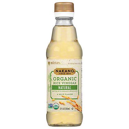Nakano Organic Natural Rice Vinegar,12 oz