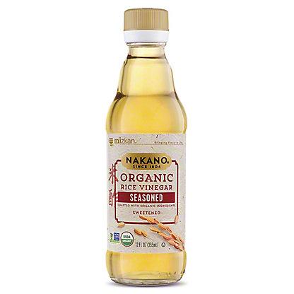 Nakano Organic Seasoned Rice Vinegar,12 oz