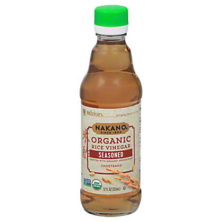 Nakano Organic Seasoned Rice Vinegar,12 oz