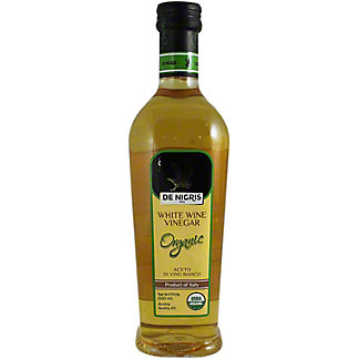 De Nigris Organic White Wine Vinegar,16.9 oz