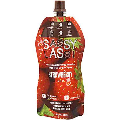 Sassy Lassi Strawberry, 6 oz