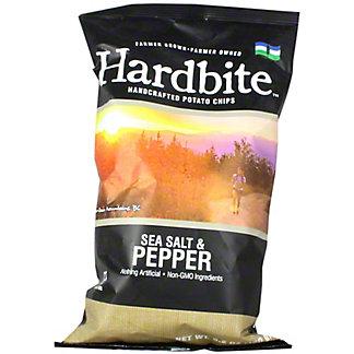 Hardbite Potato Chips Sea Salt & Pepper, 5.2 oz