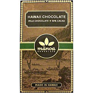 Manoa Hilo Hawaii Milk 50% Chocolate, 2 OZ