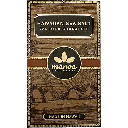 Manoa Hawaiian Sea Salt 72% Chocolate,2 0Z