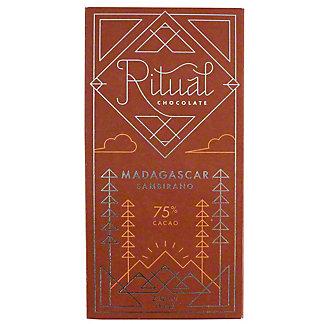 Ritual Madagascar 75% Chocolate, 2.12 oz
