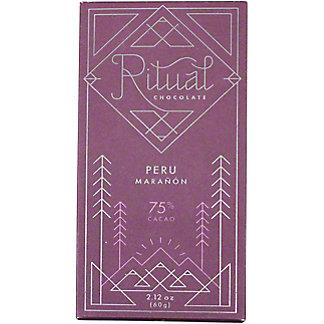Ritual Maranon Peru 75% Chocolate, 2.12 oz