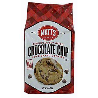 Matts Chocolate Chip Cookies, 14 oz