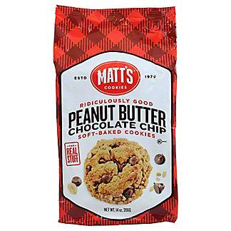 MATTS Peanut Butter Chocolate Chip Cookies,14 oz