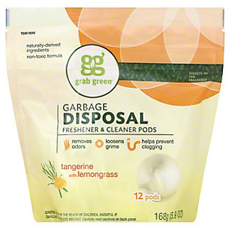Grab Green Tangerine Lemongrass Disposal Pods, 12 ct