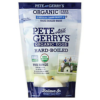 Pete and Gerrys Hard Boiled Eggs 6PK, 6 ea