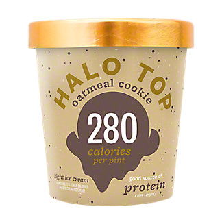 Halo Top Oatmeal Cookie,1 pt