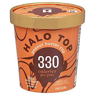 Halo Top Halo Top Peanut Butter Cup,1 pt
