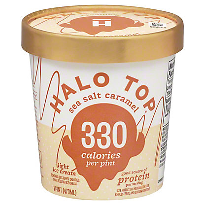 Halo Top Halo Top Sea Salt Caramel,1 pt