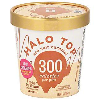 Halo Top Halo Top Sea Salt Caramel,1 pt