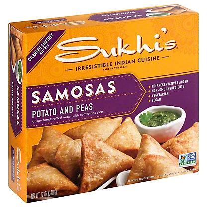 Sukhi's Potato Samosas & Chutney, 12 oz