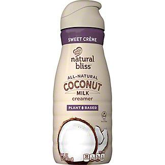 Coffee-Mate Natural Bliss Sweet Creme Coconut Milk Creamer,16 oz