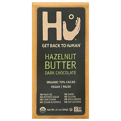 Hu Hazelnut Praline Chocolate Bar,2.1OZ