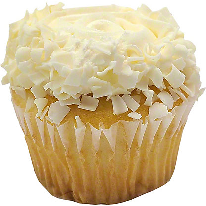 Central Market Vanilla Buttercream Cupcake, ea