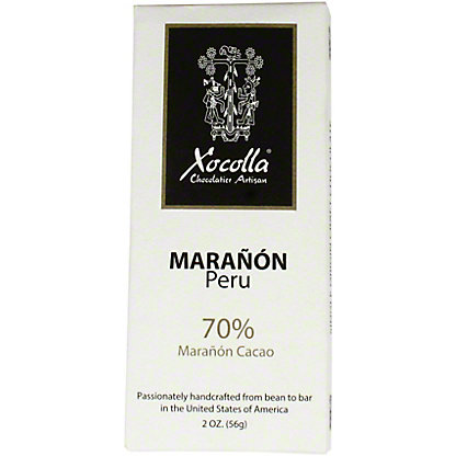 Xocolla Chocolate Bar Maranon Peru, 2 oz