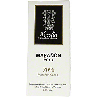 Xocolla Chocolate Bar Maranon Peru, 2 oz