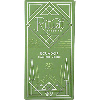 Ritual Chocolate Balao Ecuador 75%, 2.12 oz