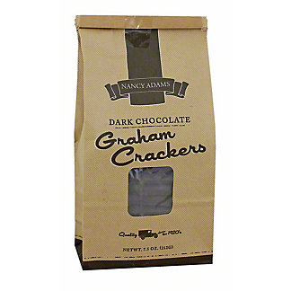 Nancy Adams Dark Chocolate Grahams,7.5 OZ