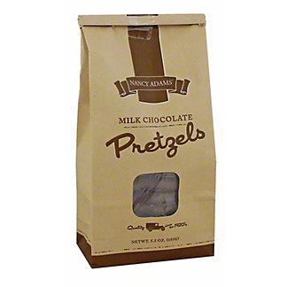 Nancy Adams Milk Chocolate Pretzels, 5.5OZ
